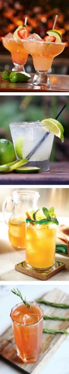 20 Delish Tequila Recipes to Try (tomorrow is National Tequila Day!) #tequila #cocktails