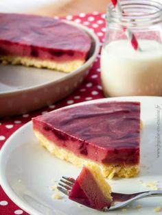 Cheesecake sans cuisson à la framboise