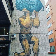 Street art in Telliskivi creative city, Tallinn.Telliskivi is and areas nearby are definitely the most interesting new areas in Tallinn. Go by foot, take time and wander around. Behind almost every corner there's something interesting to see.#streetart #art #murals #telliskivi #tallinn #estonia #burden #painting #traveltips #blogtravelwithtimo #travelblogger #timokiviluoma