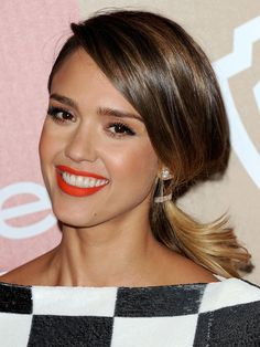 Golden Globes 2013: The best after-party beauty looks — Jessica Alba http://beautyeditor.ca/gallery/golden-globes-2013-the-best-after-party-beauty-looks/jessica-alba/