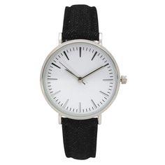 Olivia Pratt Women's Classic Simple Stick Hour Markers Watch