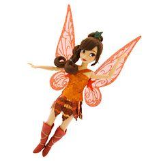NIB Fawn Disney Fairies Doll - - Legend of the NeverBeast - Tinker Bell