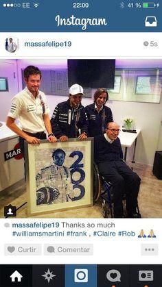 Felipe Massa :Celebrate the participation of 200 races