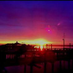 WB sunset