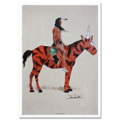Rides With Tigercorn Print, 20€, now featured on Fab.