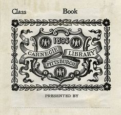 [Bookplate of the Carnegie Library Pittsburgh] by Pratt Institute Library