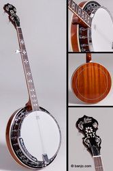 Morgan Monroe MNB-1 5-String Banjo with Starter Pack If I can't have Ben back...This would be the next best thing.