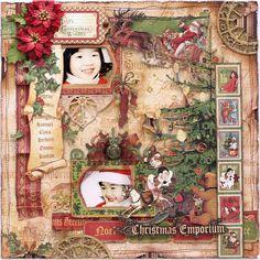 Yuka Hino's Gallery: Christmas Emporium *Graphic 45*