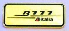 Alitalia Spilla B777 argento