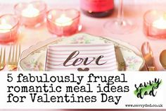 Frugal romantic meals can be just as extravagant as the ever so popular fine dining and dine in meals in the supermarkets. I& made a list of favourites. Budget Recipes, Budget Meals, Lists To Make, How To Make, Romantic Meals, Fine Dining, Frugal, Budgeting, Valentines