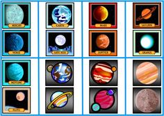 Space, Planets, and Rocket Accent Pieces and Clip Art For Space Bulletin Board Displays