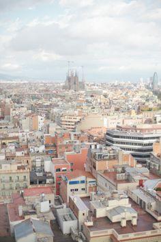 Barcelona Skyline | photography by http://saragray.net/