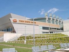 I also chose the tyson events center because it is so big and is very useful for big events.