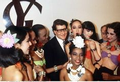 YSL with his models