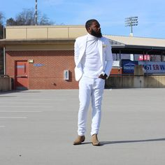 All white outfit #streetstyle #streetfashion #Denim #Style #Fashion #MensFashion #dapper #Style #stylist #AllWhite #chelseaboots #fashionblogger #fashionista #styleblogger #menstyle #blackMenfashion #blackmenstyle #blackfashion #blackstyle #stylist...