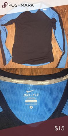 Nike Running Dri-Fit Long sleeve, size small. In great condition! Nike Tops Tees - Long Sleeve