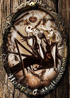 Happy Halloween III sepia version - Greeting Cards - Alessandro Della Pietra