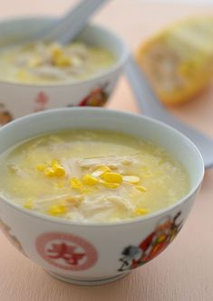 Smooth Silky chicken sweetcorn soup use either fresh chicken breast for healthier option or use leftover roast chicken, either fresh corns or canned creamed corn. Chicken And Sweetcorn Noodle Soup, Sweetcorn Soup Recipes, Chicken Chowder, Corn Chicken, Chicken Soup Recipes, Recipe Chicken, Roast Chicken, Crab Recipes, Recipies