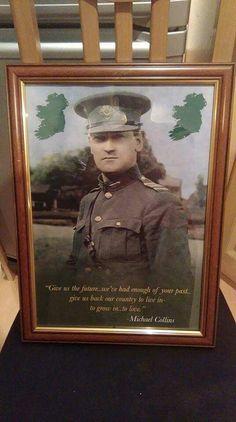 Michael Collins Irish American, American Girl, Easter Rising, Michael Collins, Luck Of The Irish, Irish Men, Our Country, Celtic, Hero