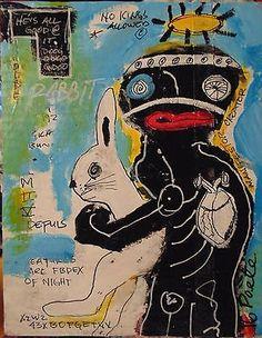 POETE-MAUDIT-Street-Art-Outsider-Painting-Naive-Brut-MANIFESTOR-CREATOR