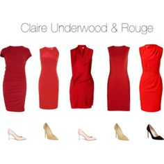 Claire Underwood & Red