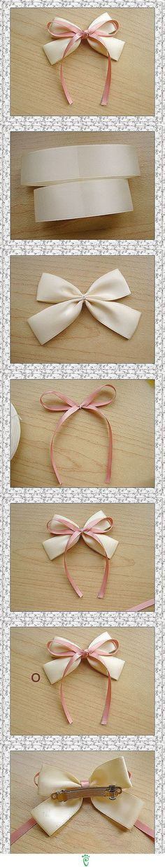 How to Make Hair Bows (Tutorial)