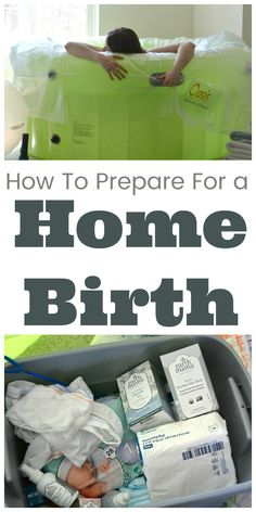 How to prepare for a home birth. Home birth / water birth / childbirth Unassisted Birth, Water Birth, Pregnancy Information, Natural Birth, Natural Life, Pregnant Mom, First Time Moms, Pregnancy Tips, Baby Sleep