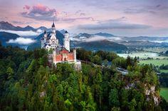 眠れる森の美女のモデルは「ノイシュヴァンシュタイン城」