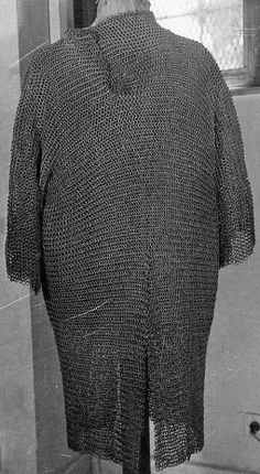 Mamluk riveted mail hauberk, 15th to 16th century, Museum of Islamic Art, Cairo Egypt.