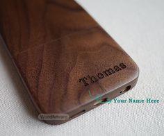 Custom iPhone 6 case Wood iPhone 5 case iPhone 6 by WoodArtware