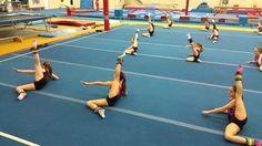 Omega gymnastics New warm up