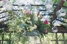 Garden Party Wedding Inspiration -  - Feather and Bone Photography, A Sea of Bloom Floral Design and En Vied Events www.enviedevents.ca