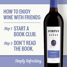 We love #Book Club nights! #wine #bookclub