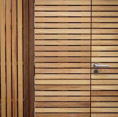 Trellis/Door detail by WM Studio.