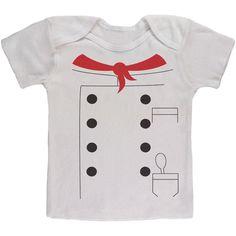 Halloween Chef Costume Baby T Shirt