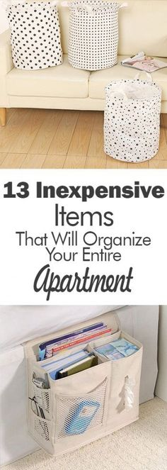 13 Inexpensive Items That Will Organize Your Entire Apartment