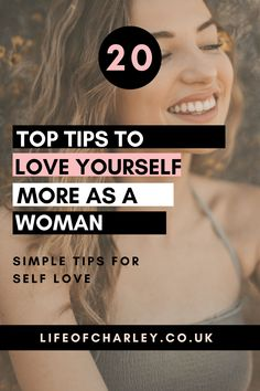 20 ways to start learning to love yourself first - be your best you, boost your confidence and find happiness with these self care tips! Learning To Love Yourself, Love Yourself First, Love Life, Life Is Good, Practicing Self Love, Your Best Life Now, Love You More, Growth Mindset, Self Care