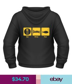 T-Shirts Shoes & Accessories Fishing Humor, Eat Sleep, Hoodies, Sweatshirts, Colours, Funny, Sweaters, T Shirt, Ebay