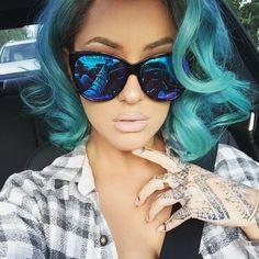 Blue curls☻