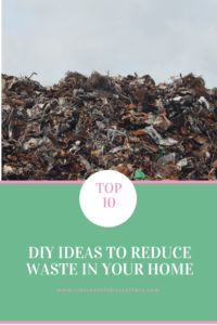 10 of the best DIY ideas to help you reduce waste in your home.  Instituting just a few of these will make a real difference to landfill amounts. The post Top 10 DIY ideas to reduce waste in your home appeared first on Clairey at Fairy Crafters.