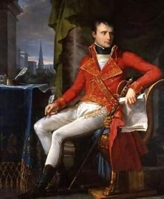 Napoleon Bonaparte  young-leader-painting