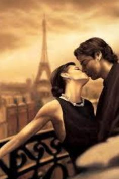 Is it the kiss.or is it Paris? It's the kiss IN Paris! The Kiss, French Man, French Kiss, The Embrace, Romantic Pictures, Romantic Couples, Romantic Paris, Romantic Kisses, Romantic Moments