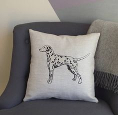 Range of Cushions and Cushion Covers. Handmade in the UK. Patterned Cushions and Personalised Cushions. Personalised Cushions, Printed Cushions, Country Crafts, On The High Street, Dalmatian, Cushion Covers, Creative Business, Personalized Gifts, Unique Gifts