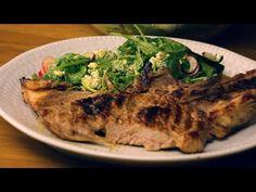 Σπαλομπριζόλες και σαλάτα με ντρέσινγκ μουστάρδας | FOOD VIDEOs - YouTube Food Videos, Steak, Youtube, Steaks, Youtubers, Youtube Movies