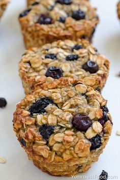 Baked Blueberry Banana Oatmeal Cups is part of Healthy blueberry muffins Baked Blueberry Banana Oatmeal Cups perfect and healthy way to start your day! Delicious, moist and not too sweet! Very easy - Oatmeal Blueberry Muffins Healthy, Blueberry Recipes, Healthy Muffins, Blue Berry Muffins, Blueberry Banana Muffins Healthy, Baked Oatmeal Muffins, Baked Oatmeal Recipes, Brunch, Chocolate Chip Oatmeal