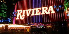A final goodbye... The Riviera Hotel and Casino on the Las Vegas Strip. - Kimberly Pierceall/AP