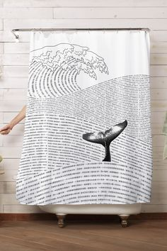 "Shower Curtain: ""The Ocean Of Story"" by Lim Heng Swee 