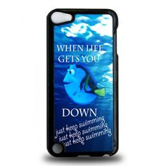 ipod 5th generation cases   ... » Keep Calm and Just Keep Swimming iPod Touch 5th Generation Case