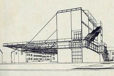 petersschule . basel . 1926 . hannes meyer  Este proyecto me sirvió mucho para un trabajo de 6º de carrera. Cómo pasa el tiempo! (J)