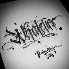 3d calligraphy art - Google Search